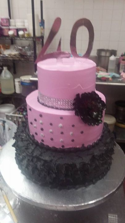 Another cake for 40th birthday......