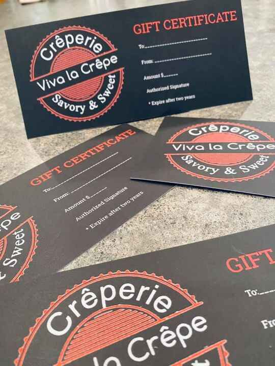 Are you ready for Christmas? If you want to make holiday shopping even easier swing by and grab a gift certificate for y...