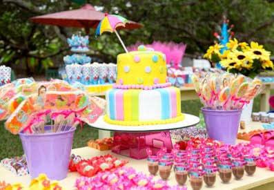 Ideia para festas no verão!!