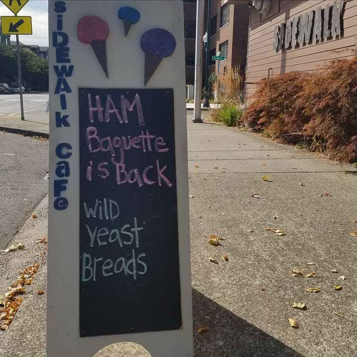 WYB is back at the Sidewalk Cafe!We will be delivering as usual this weekend, September 9-12. I'm not baking next Thursd...