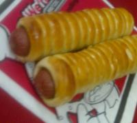 Biggest seller at Reynoldsburg?  Pretzel dogs, now and every day at a special price of $4 for two.